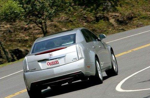 摆脱传统 凯迪拉克新CTS 3.6激情试驾 汽车之家
