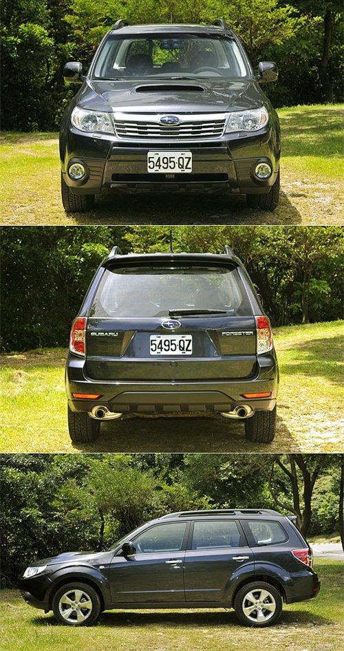 向SUV靠拢!斯巴鲁森林人2.5T/2.0试驾 汽车之家