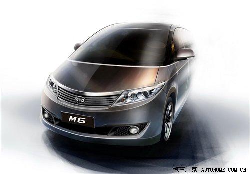 09年将上市 比亚迪新款MPV车型曝光 汽车之家