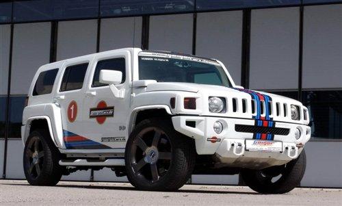 搭配V8发动机 悍马H3最新改装版曝光 汽车之家