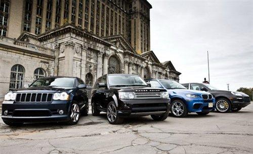 猛犸狂欢节! 对比试驾四款热门大型SUV 汽车之家