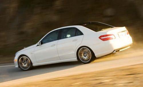 新任运动征服者 试驾2010款奔驰E63 AMG 汽车之家
