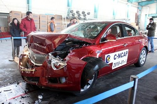 预计成绩良好 新君威CNCAP碰撞提前曝光 汽车之家