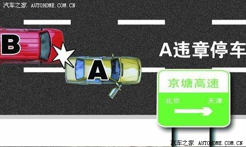 事故十:遇无信号灯的十字路口,对向行驶的右转的车没有让左转车.