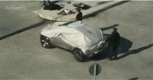 将亮相巴黎车展 标致hr1概念车谍照曝光 汽车之家