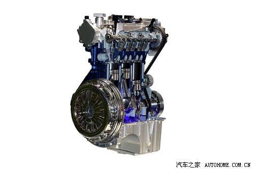 环保高效 福特1.0t ecoboost发动机细节 汽车之家
