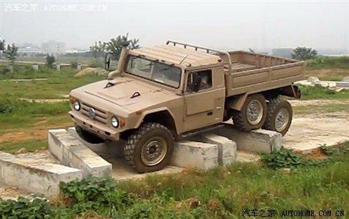 中国的乌尼莫克 枭龙军用越野卡车曝光 汽车之家