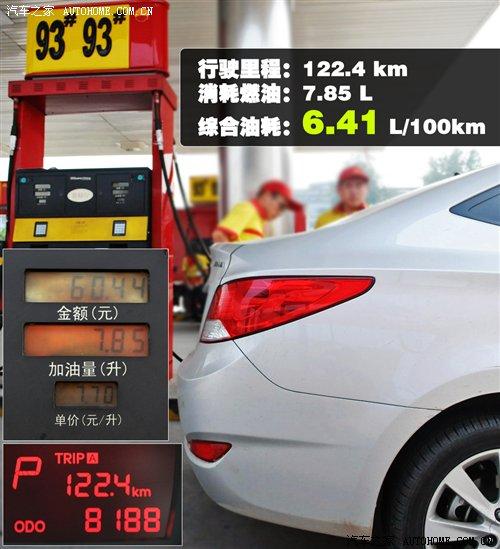 瑞纳2017款油耗 北京现代瑞纳2017款油耗 百公里油耗图片