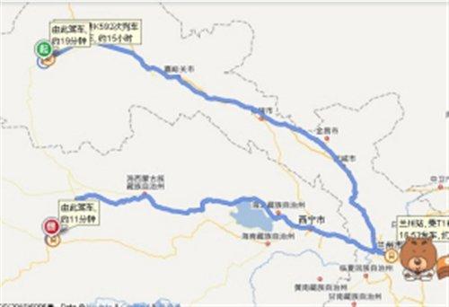 敦煌至格尔木铁路开建以后新疆直通西藏