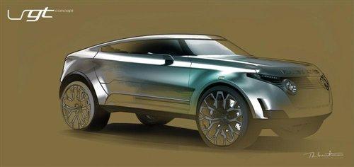 与X6相竞争 揽胜LRGT概念车设计图曝光 汽车之家