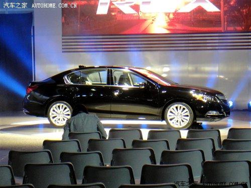 2012洛杉矶车展探馆 讴歌RLX量产版 汽车之家