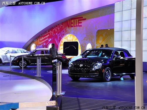 2012洛杉矶车展探馆 大众甲壳虫敞篷版 汽车之家