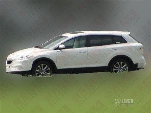 明年进口 疑似马自达新款CX-9国内曝光 汽车之家