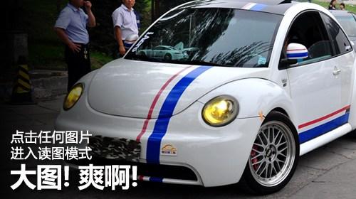 北京hellaflush改装_【图】恐高症患者齐聚北京 HF改装车友聚会_汽车之家