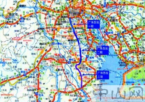 广珠西线中山出口_【图】广珠西线三期有望年底通车 设5个收费站_汽车之家