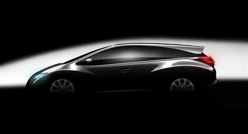 内瓦车展首发 思域旅行版预告图发布