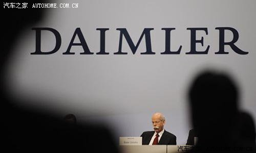 【图】传闻:中投公司将购买戴姆勒4%-10%股份
