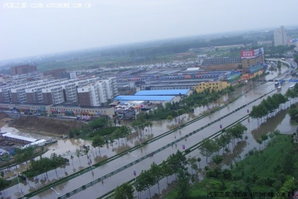 一场大雨把郑州变成威尼斯 - 一剪梅 - 一剪梅