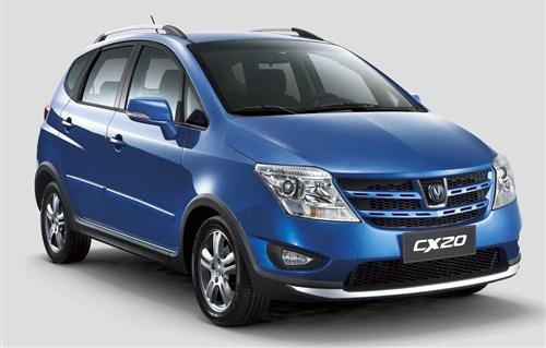 长安汽车系列CX20新标新款迎新年大吉高清图片