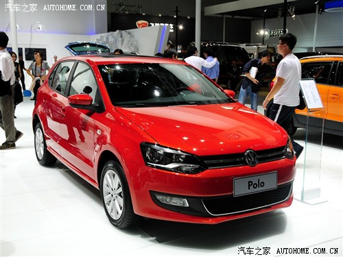 大众上海大众polo2013款 1.6l 自动豪华版