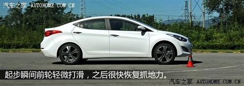 现代 北京现代 朗动 2012款 1.8L 自动尊贵型