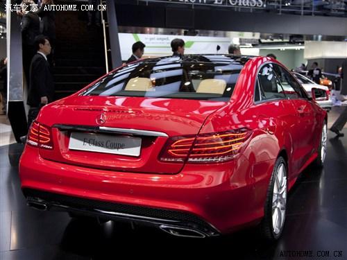 奔驰奔驰(进口)奔驰E级(进口)2013款 E500 Coupe