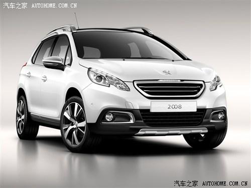 【图】日内瓦车展首发 标致2008官图正式发布