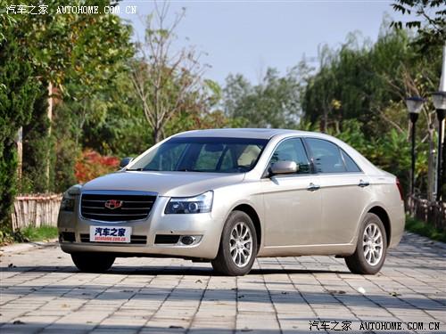 帝豪 吉利汽车 帝豪EC8 2011款 2.4L 自动BMBS版