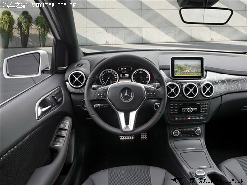 奔驰 奔驰(进口) 奔驰B级 2011款 E-Cell Plus Concept