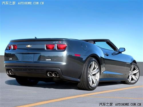 雪佛兰 雪佛兰(进口) 科迈罗Camaro 2013款 6.2 ZL1 Convertible
