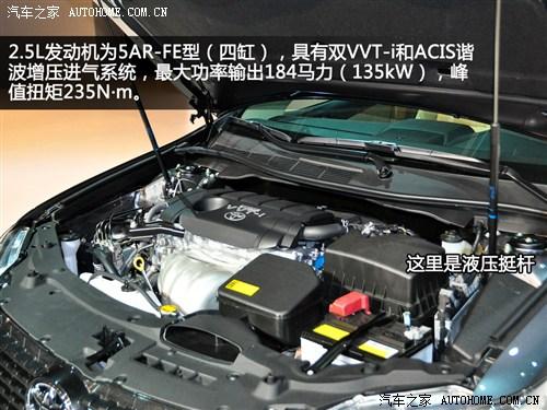 5l发动机则为5ar-fe型,具有双vvt-i和acis谐波增压进气系统,最大功率