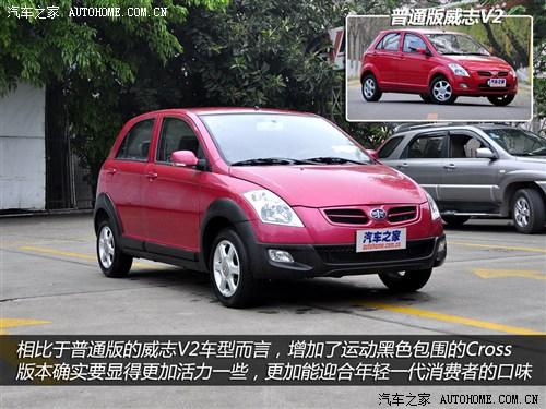一汽 天津一汽 威志v2 2012款 cross 1.3mt豪华型 -3