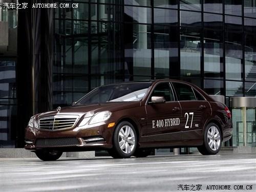 奔驰 奔驰(进口) 奔驰E级(进口) 2012款 E400 HYBRID