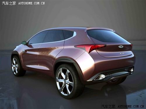 奇瑞 奇瑞汽车 奇瑞TX 2012款 概念版