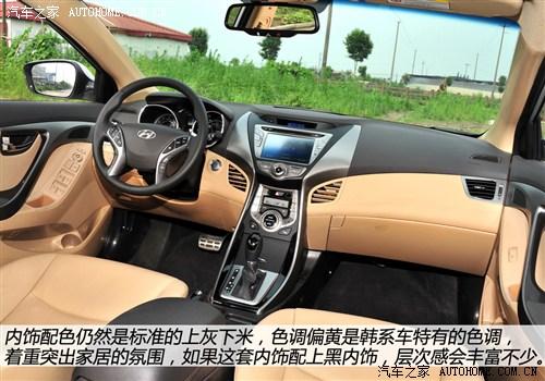 現代 北京現代 朗動 2012款 基本型