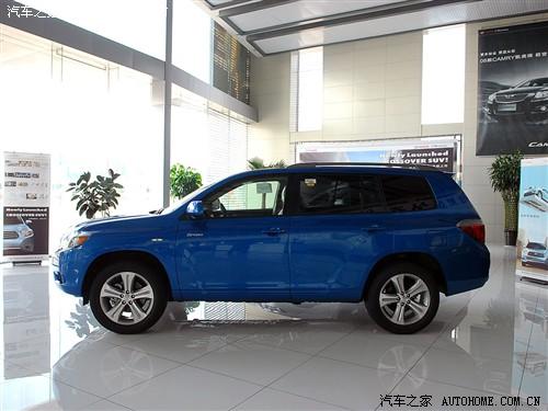 汽车之家 进口丰田 汉兰达 3.5L 运动豪华型