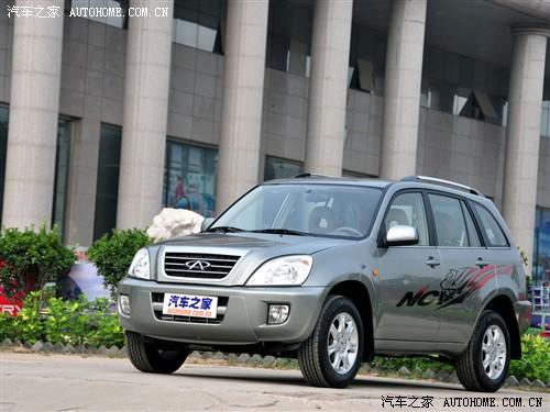 奇瑞 奇瑞汽车 瑞虎 2009款 经典版1.6 MT舒适型