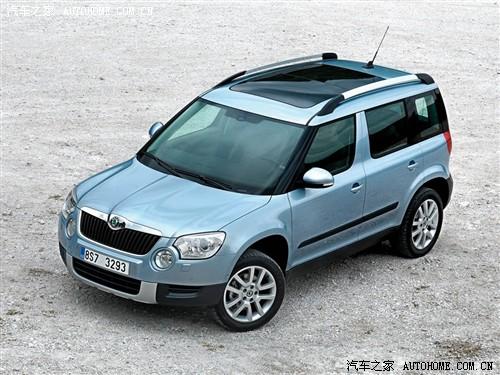 汽车之家 进口斯柯达 yeti 2010款 基本型