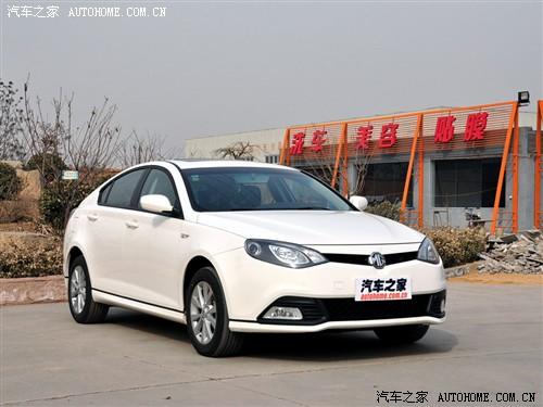 汽车之家 上海汽车 mg6 2010款 1.8l 自动精英版