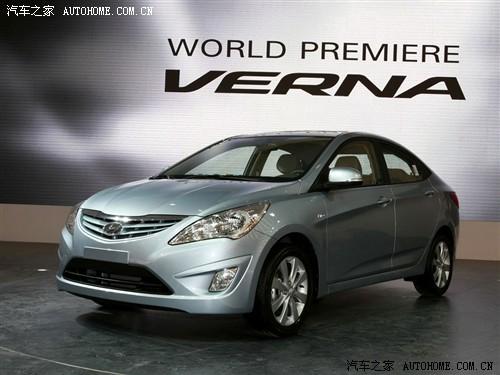 现代 北京现代 verna 2010款 基本型