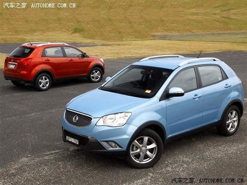 双龙 双龙汽车 柯兰多 2011款 两驱精英导航版