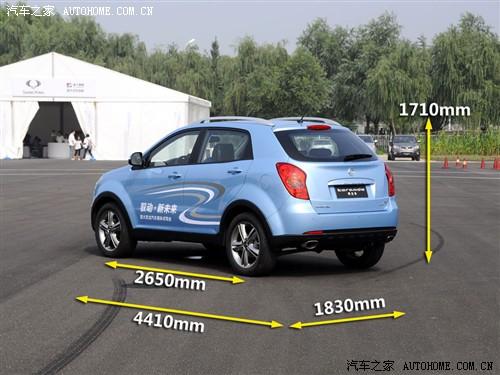 汽车之家 双龙汽车 korando 2011款 基本型