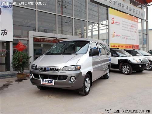 汽车之家 江淮汽车 瑞风 2011款 穿梭 2.0L 汽油标准版