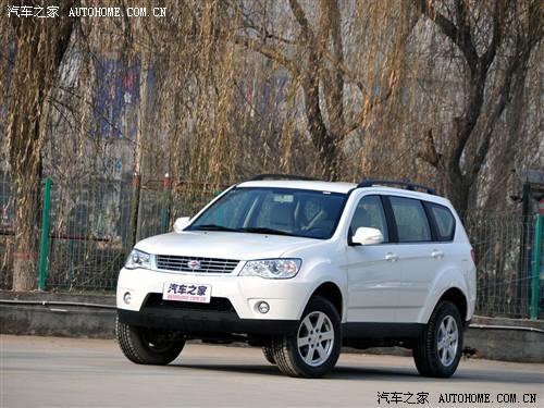 陆风 陆风汽车 陆风x8 2011款 2.5t 柴油4x2导航版
