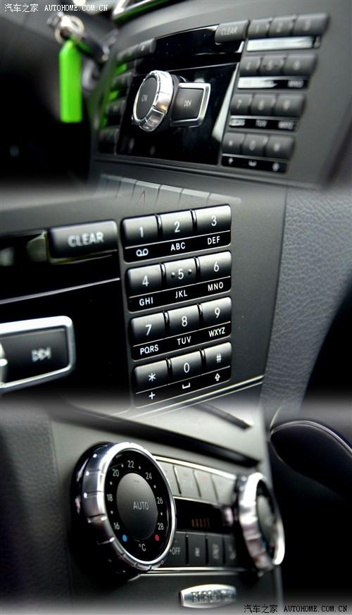 奔驰c200车内按钮图解