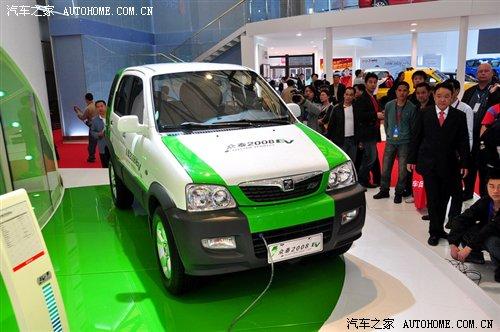众泰2008ev- 图 售价11 98万元 众泰2008EV纯电动车上市