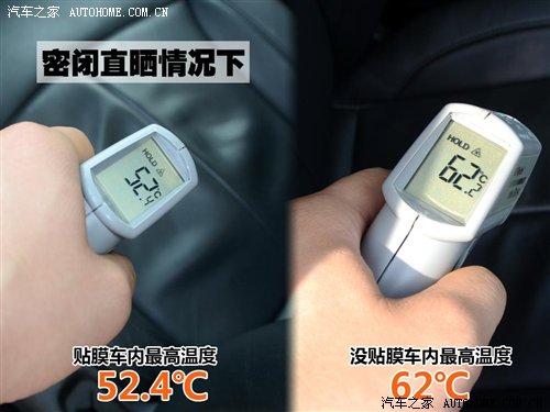 流言终结者II 汽车贴膜隔热力很强吗?