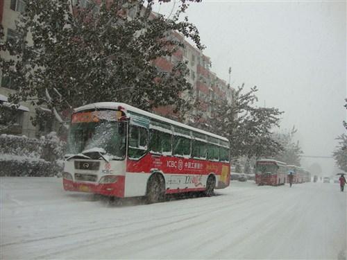 【图】降雪影响公路客运总站车次减少日照停运
