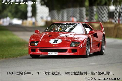 法拉利法拉利法拉利F40以往经典版